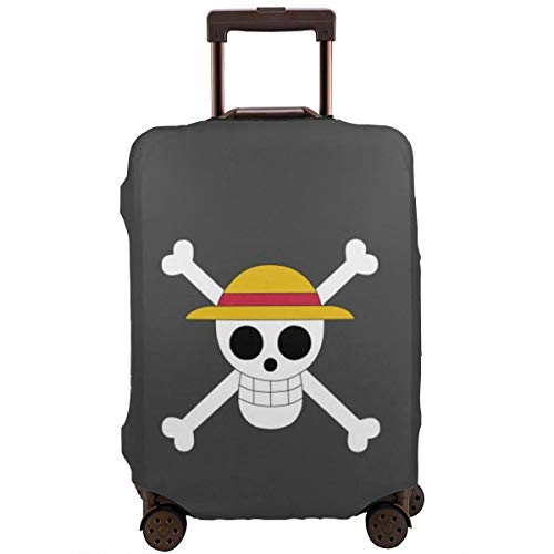 Travel Luggage Cover Anime Color ONE Piece Suitcase Covers Protectors Zipper Washable Baggage Luggage Covers Fits L