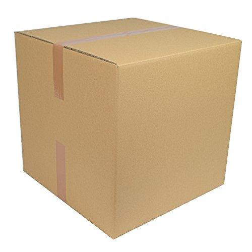 1 Karton 500 x 500 x 500 mm für DPD und DHL Versand 2 Wellig