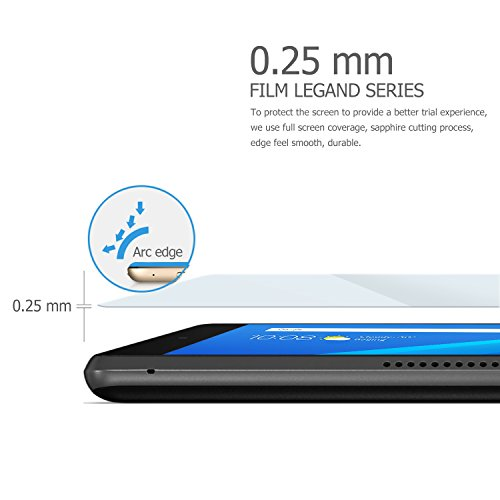 IVSO Screen Protector for AT&T Lenovo Moto Tab Tempered-Glass, Scratch-Resistant, No-Bubble, Easy Installation for AT&T Lenovo Moto Tab, Lenovo Tab 4 10 Plus Tablet