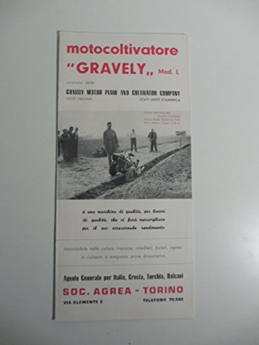 Motocoltivatore Gravely MOD. L