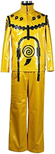Holysteed Cosplay Costume_Naruto_Uzumaki Naruto_Nine-Tails Uniform Large