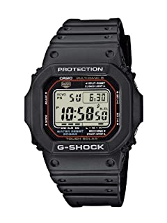Casio G-Shock Herren-Armbanduhr Funk-Solar-Kollektion Digital Quarz GW-M5610-1ER (B001414NT8) | Amazon price tracker / tracking, Amazon price history charts, Amazon price watches, Amazon price drop alerts