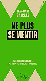 Ne plus se mentir - Petit exercice de lucidité par temps d'effondrement écologique de Jean-Marc Gancille