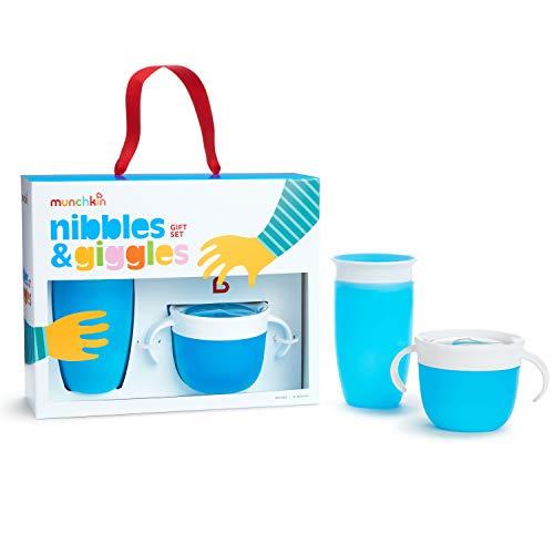 Munchkin Set De Regalo Nibbles & Giggles, Azul 1 unidad 430 g