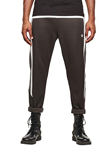 G-Star Heren Gestreepte joggingbroek, Zwart