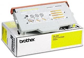 Brother TN-04Y Toner Cartridge, Yellow