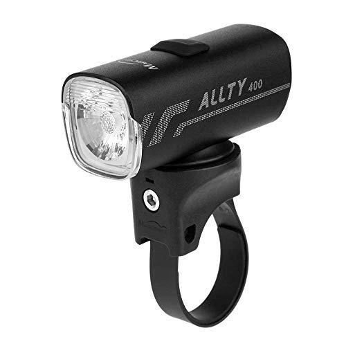 Magicshine Allty Commuter Bike Lights Allty 400, Allty 600, Allty 800 Road Bike Light, USB Type-C Rechargeable, IPX7 Waterproof LED Bike Light for Road, Urban Cyclists… (Allty 400)