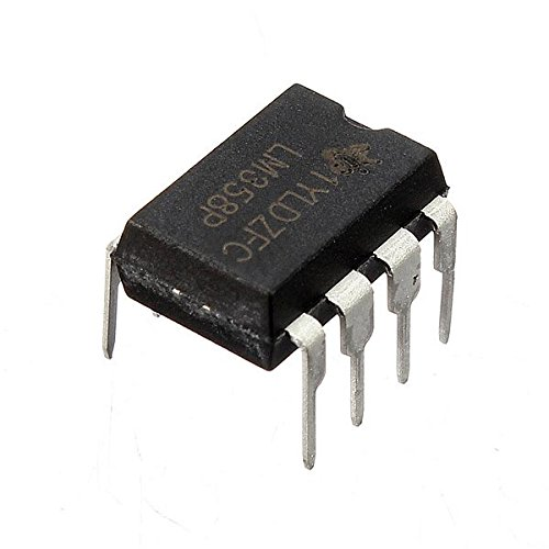 Ils - 10 Piezas LM358P LM358N LM358 Dip-8 Chip IC Dual Amplificador operacional
