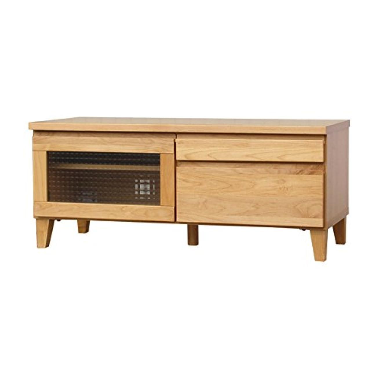 魔術師インシデント建物ISSEIKI テレビボード TVボード アルダー色 幅100cm 選べる3サイズ 木製家具 【FL-11-1】