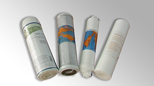 Wasserfilter Kartuschen für Osmose Anlage ALK550, Aquia Living, ROWA