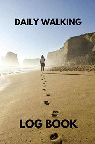 Daily Walking Log Book Walkers Record Book Heart Rate Healthy Lifestyle Fitness Goals Gifts product image