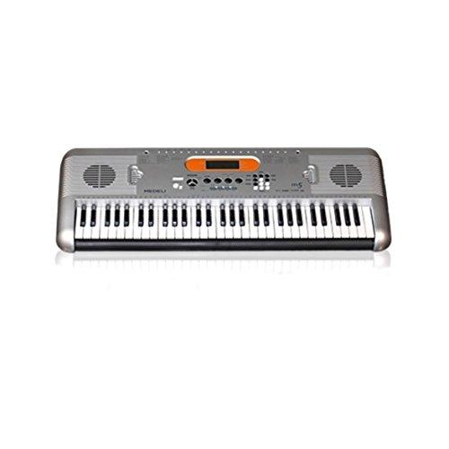 Medeli MED-M5 Digital Keyboard (61 Tasten, grau