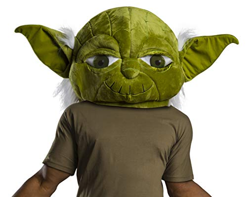 Rubie's Star Wars Classic Adult Plush Oversized Yoda Head Mask