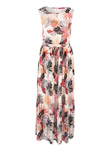 s.Oliver RED LABEL Damen Chiffonkleid mit Allover-Print cream AOP 38
