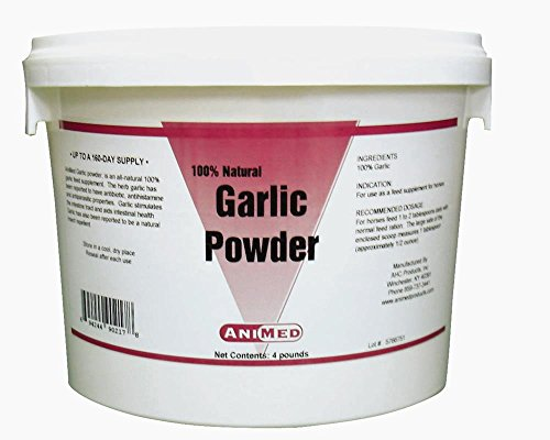 AniMed Garlic Powder Pure for Horses, 4-Pound