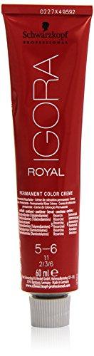 Schwarzkopf IGORA Royal Premium-Haarfarbe 5-6 hellbraun schoko, 1er Pack (1 x 60 g)