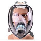 TX Máscara De Gas De Cara Completa Química Protección De Vapor De Vapor Tóxico Formaldehído Equipo De Engranaje Industrial A Prueba De Polvo