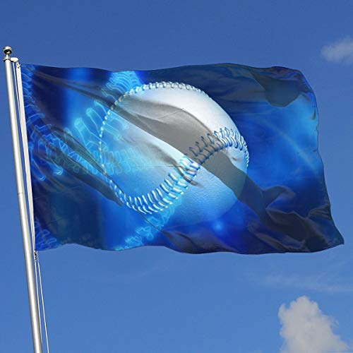 Nicokee Garden Yard Flag, Best Baseball Flags 3x5 Home Flag Indoor Outdoor Fall Flags Wall Banners Decoration