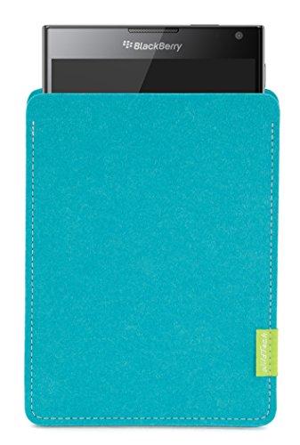 WildTech Sleeve für BlackBerry Passport Hülle Tasche - 17 Farben (Handmade in Germany) - Türkis
