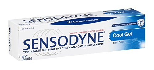 Sensodyne Toothpaste for Sensitive Teeth & Cavity...