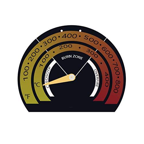 Leikance Ofenthermometer, magnetisches Ofenthermometer Winterherd Zubehör Kaminofen Thermometer