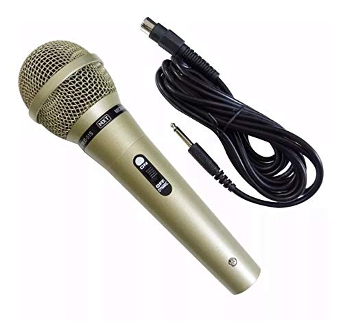 Microfone Karaokê Carol Com Cabo De 5 Metros Mud515 Oem
