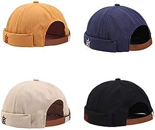 قبعة Extaum العصرية للجنسين قابلة للتعديل بدون حافة للرجال والنساء قبعة الهيب هوب قبعة عادية فرنسية