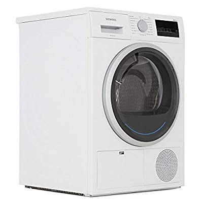Siemens WT45N201GB Freestanding B Rated Condenser Tumble Dryer in White