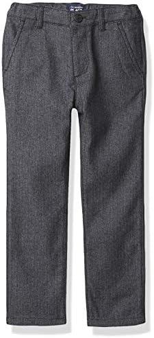The Children s Place Boys Toddler Herringbone Skinny Dress Pants Black 18 24 Months product image