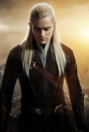 Import Posters The Hobbit : The Desolation of Smaug – Legolas – U.S Textless Movie Wall Poster Print - 30CM X 43CM
