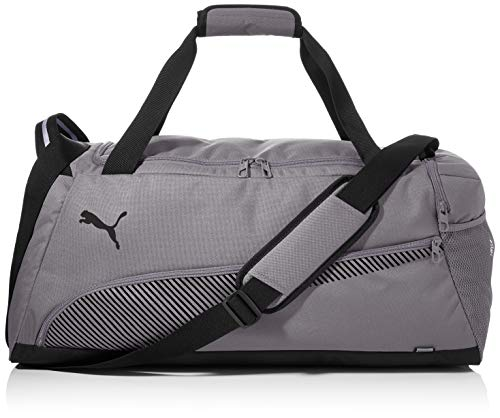 PUMA Fundamentals Sports Bag M Bolsa Deporte, Unisex Adulto, Ultra Gray, OSFA