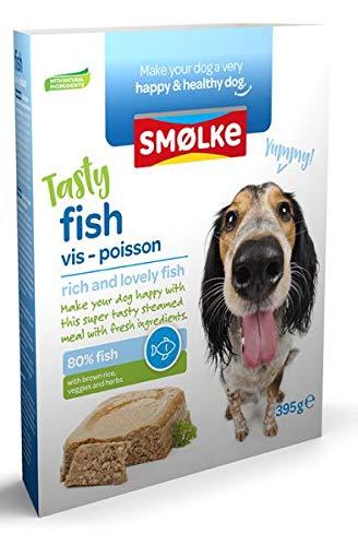 395 GR Smolke vers gestoomd vis hondenvoer