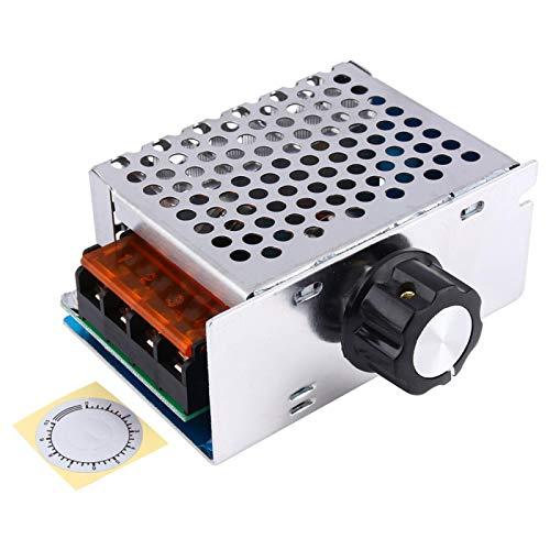 1 Uds Motor controlador de velocidad SCR de alta potencia 4000W AC 220V para regulador de voltaje electrónico
