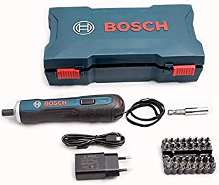 Bosch 3.6V Cordless GO Smart Screwdriver Set Blue