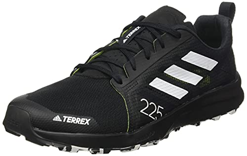 adidas Terrex Speed Flow, Zapatillas de Trail Running Hombre, NEGBÁS/Balcri/Amasol, 43 1/3 EU