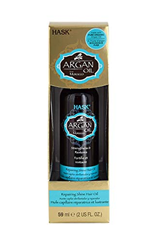 Hask Repairing Shine Hair Oil Argan Oil - 2 Oz