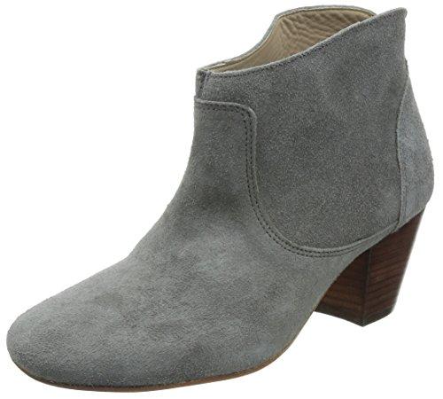 Hudson London Damen Kiver Kurzschaft Stiefel, Grau (Slate), 37 EU