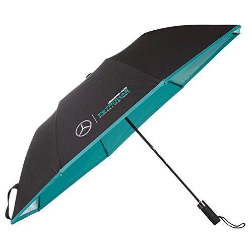 Mercedes-Benz AMG Petronas Formula 1 Black Compact Umbrella