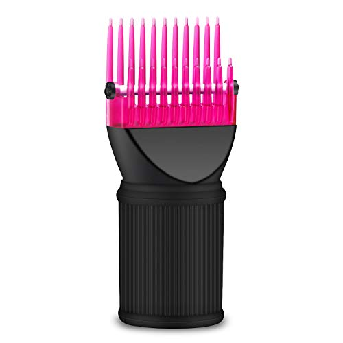 Hair Dryer Comb Attachment, Segbeauty Detangling Blow Dryer Hair Styling Tool, Dryer Brush Attachment, Hairdressing Salon Tool for Smoothing Straightening Fine, Wavy, Curly, Natural Frizzy Hair