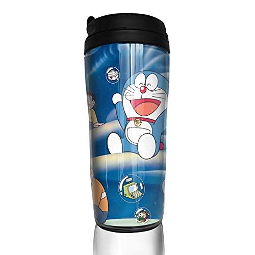 KINGAM Taza de café Dor-Aemon para bebidas de viaje, taza de vacío, 350 ml