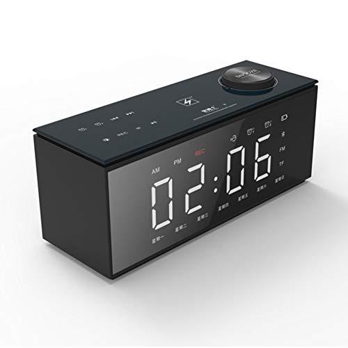 T ECH Altavoz portátil Bluetooth, TWS 4.0Wireless Altavoz Bluetooth con estéreo 3D de Alta fidelidad Bass, Incorporado en 2000 mAh de la batería, 8H Duración,Negro