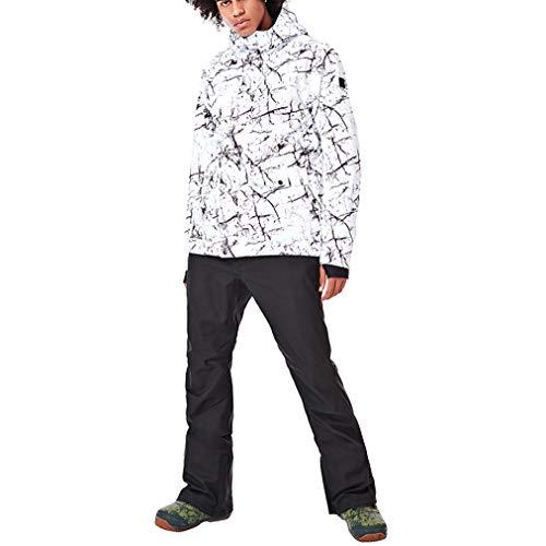 Skipak, regenjas voor heren, warm, waterdicht, jas, regenjas, winter, casual, mantel met capuchon, voor bergbeklimmen, wandelen, reizen, sport, cadeau