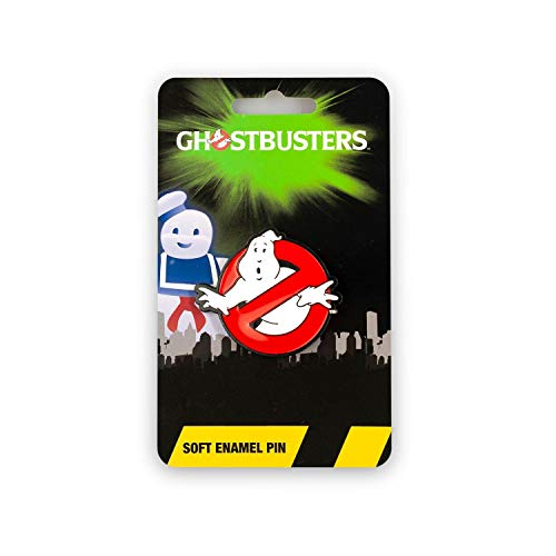 Ghostbusters Official Ghosts Logo Pin | Enamel Collector's Pin | Approx. 1.5