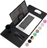 YSAGi Schreibtischunterlage,Tischunterlage,PU-Leder Laptop Schreibtischmatte, Mauspad,Ultradünnes...