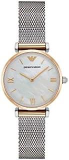 Emporio Armani Womens Quartz Watch, Analog Display and Stainless Steel Strap AR2068