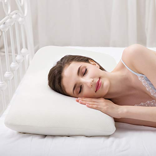 Power Of Nature Cuscini per Letto, Cuscino Memory Foam, Guanciale Ortopedico per Dolori...