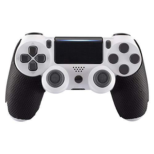 eXtremeRate PS4 Anti-Rutsch Griffe GriffpolsterSchutzgriffe Aufkleber Abziehbilder Skin für PS4 Slim Pro Kontroller