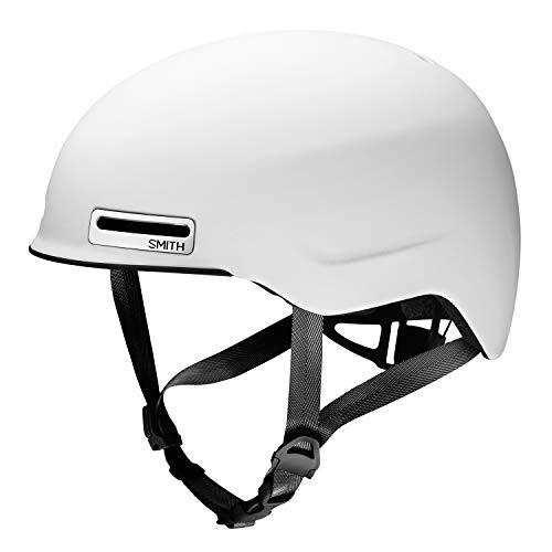 Smith Unisex– Erwachsene Maze Bike Für Stadt und Park, Matte White, Large 56-62 cm