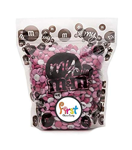 Baby Girl Custom M&M'S 2lb Bulk Candy Bag