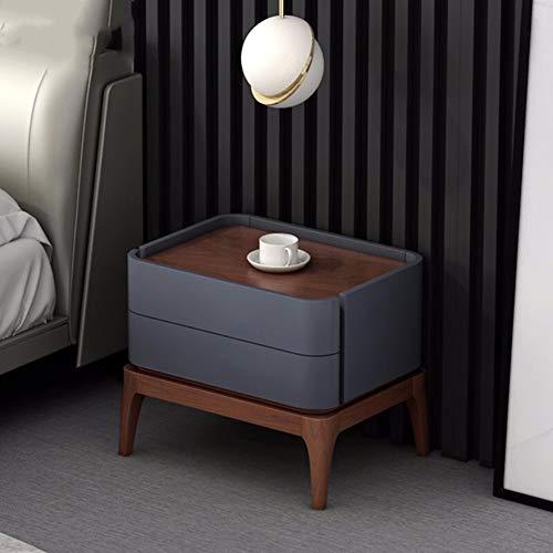 QuRong nachtkastje 360 ° rond klein Scandinavisch dressoir mini slaapkamer nachtkastje salontafel sofa ideeën modern ladenbed